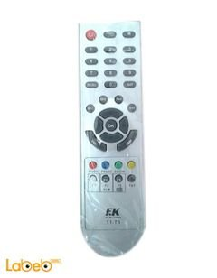 EK Television Remote control - Chrome - T1-T5