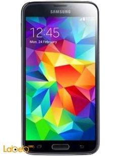 موبايل سامسونج جلاكسي S5 - ذاكرة 16 جيجابايت - اسود - Galaxy S5