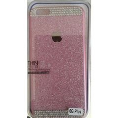 Mobile back cover - for iphone 6 plus - pink color