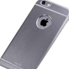 Moshi iGlaze Armour back cover - iPhone 6 Plus -Grey - 99MO079021