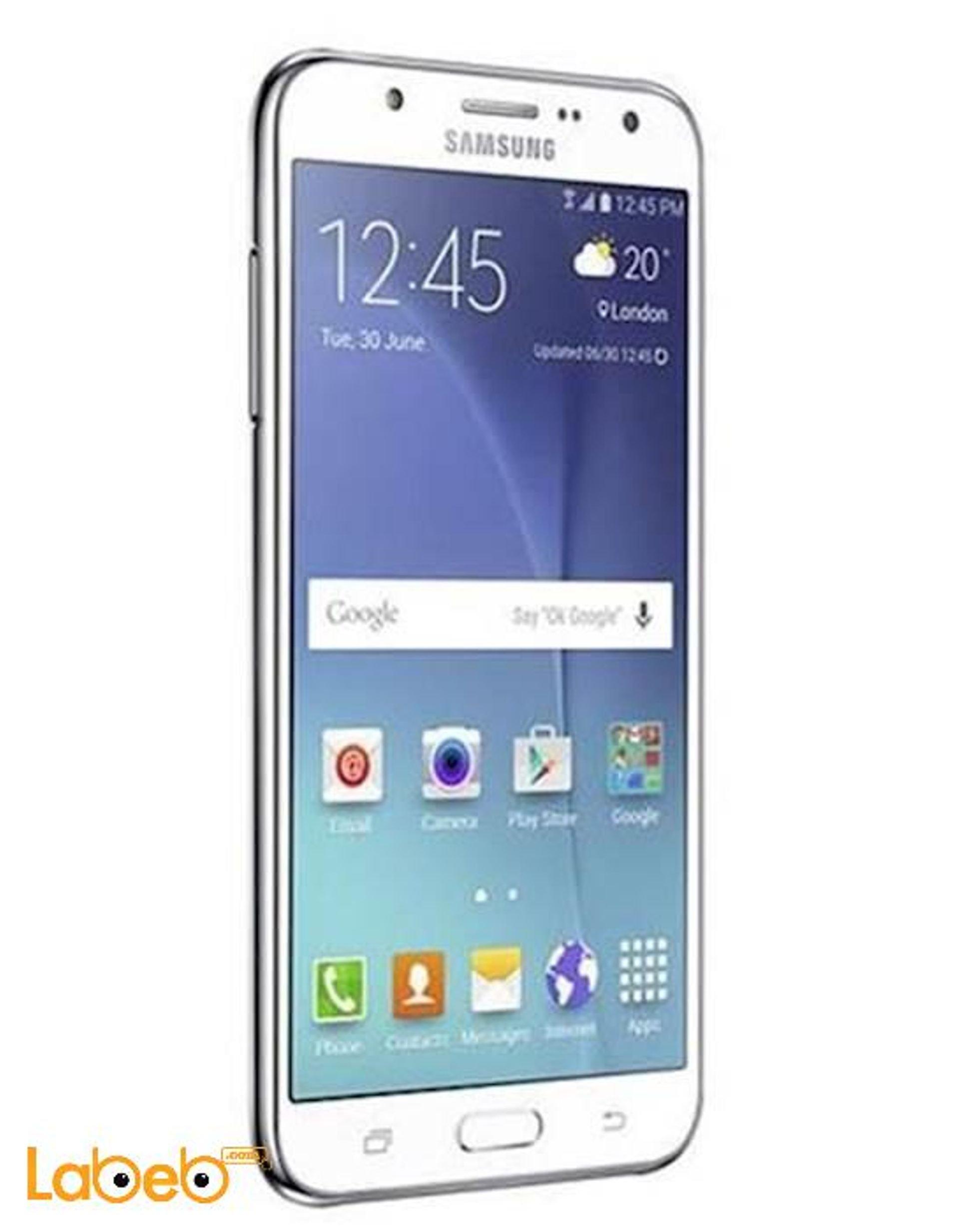 7a8181bcf76ab موبايل سامسونج جلاكسي J7، أبيض، ذاكرة 16GB، يدعم 3G