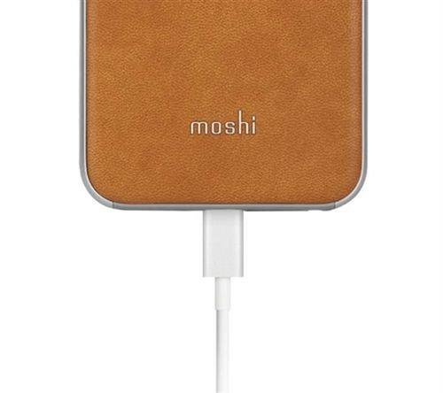 غطاء خلفي موشي لايفون 6 جلدي بني 99MO079104