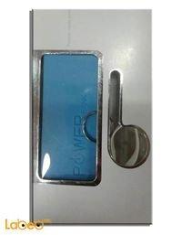 شاحن محمول مناسب لجميع الهواتف 2600mAh منفذ USB ازرق A5