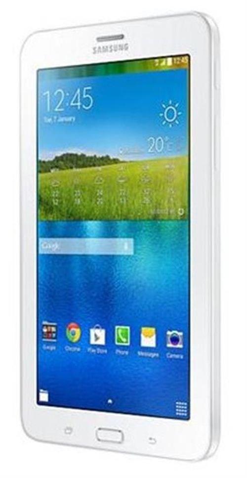 واجهة تابلت سامسونج جلاكسي تاب 3 لايت 8 جيجابايت خاصية اتصال 3G ابيض