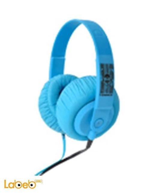 سماعة رأس اي دانس لايف ستايل SDJ 650 لاستعمال الدي جي ازرق