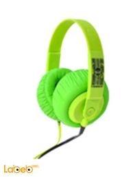 سماعة رأس اي دانس لايف ستايل SDJ 950 لاستعمال الدي جي اخضر