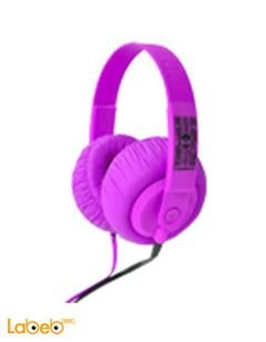 SDJ 550 iDance Lifestyle DJ HeadPhone - Purple color