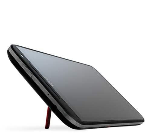 side Black HTC Evo 4G Lte 1GB