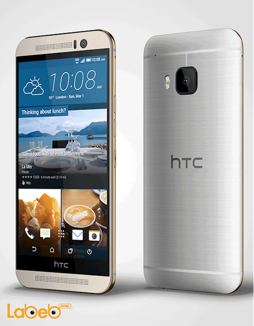 موبايل HTC ون M9 ذاكرة 32 جيجابايت 5 انش لون رمادي