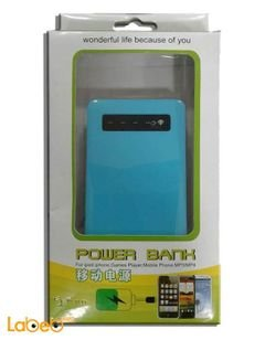 Mobilea Power Bank - charges 6 different devices - blue color