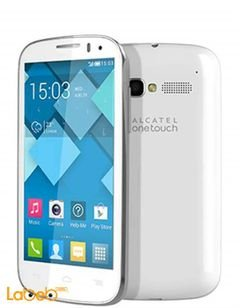 Alcatel pop c5 smartphone - 4GB - 4.5 inch - white