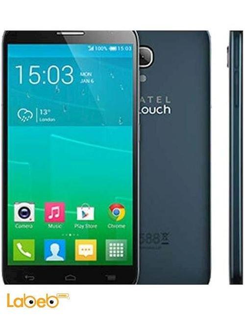 Black Alcatel Idol 2 Mini S smartphone