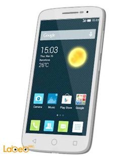 ALCATEL POP 2 (5) smartphone - 8GB - 5 inch - WHITE COLOR