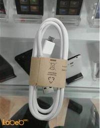 كابل Micro USB لون ابيض جودة عالية USB data cable