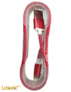 iphone 5 Data & Charge lightning cable - Red color