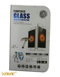 لاصقة زجاج لشاشة ايفون تحمي من الانكسار والخدوش جودة عالية