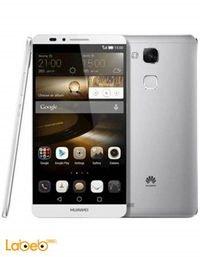 موبايل هواوي اسيند مايت 7 16 جيجا فضي Huawei Ascend Mate 7