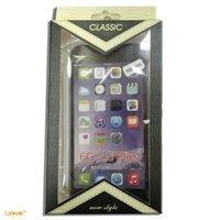 غطاء هاتف ايفون 6 بلس يحمي من الخدوش والصدمات لون شفاف