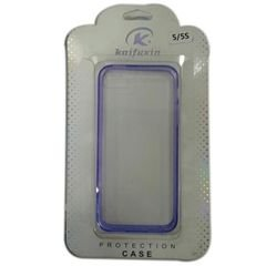 KAIFUXIN protiction CASE - Iphone 5 - Transparent and purple design