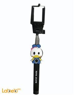 Daisy duck selfie stick - AUX jack - black color