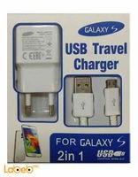 white Samsung galaxy S charger cable and port