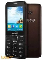 Alcatel 20.07 mobile 16MB 2.4inch brown color 2007 D