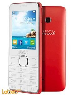 Alcatel 2007 Mobile - 16GB - 2.4inch - red - 2007 D