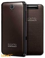 Alcatel 20.12 mobile 16MB 2.8inch brown color 2007 D