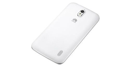 Huawei Y625 smartphone back White color