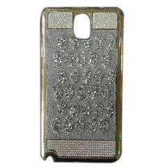 Back cover for samsung note 3 - Distinctive design - silver color