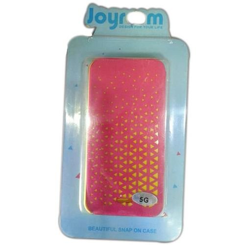 غطاء خلفي جايروم لموبايل ايفون 5S لون وردي واصفر