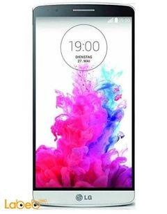 LG G3 Stylus smartphone - 8GB - white color - model LG-D690