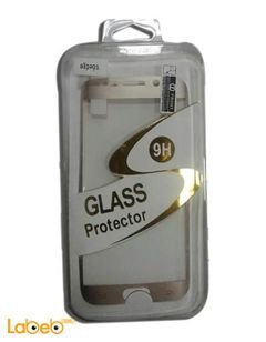 9H Glass protector - for samsung galaxy S6 edge - Gold color