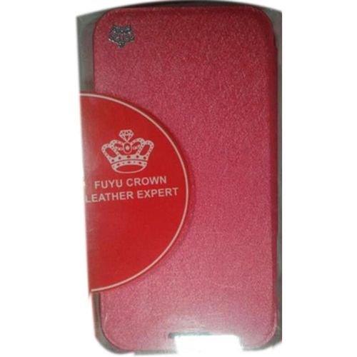 غطاء للموبايل fuyu crown مناسب لسامسونج جلاكسي نوت 2 احمر