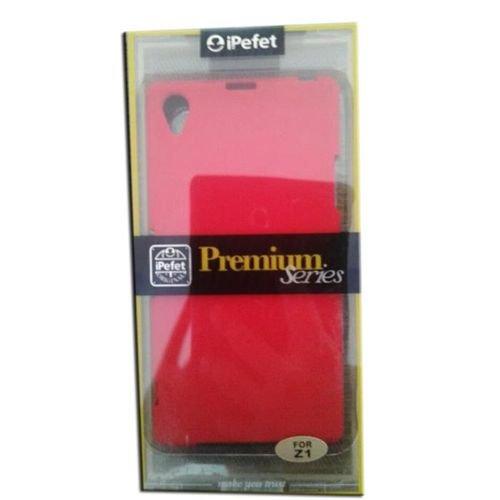 غطاء خلفي ipefet لجهاز سوني اكسبيريا Z1 لون احمر