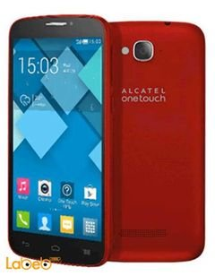 Alcatel pop C7 Smartphone - 4GB - 5Inch -  Red color