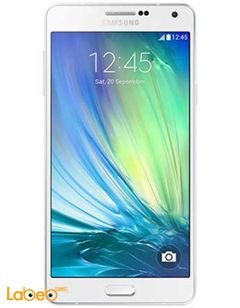 Samsung Galaxy A7 smartphone - 16GB - white color - SM-A700F