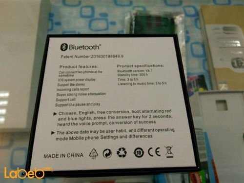 specifications Mini8 Wireless Stereo Headset