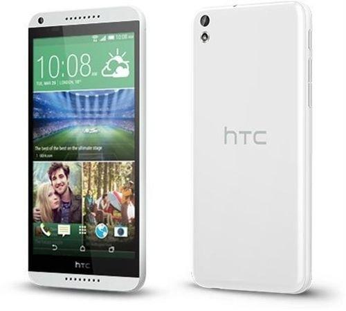 واجهة وخلفية موبايل HTC ديزاير 816 أبيض