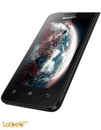 موبايل لينوفو A319 ذاكرة 4 جيجابايت 3G لون اسود