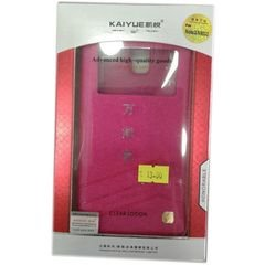 Kaiyue mobile cover -  galaxy note 3 - Pink with Chinese letters