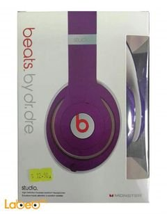 Monster mobile headphone - for mobile devices - purple color