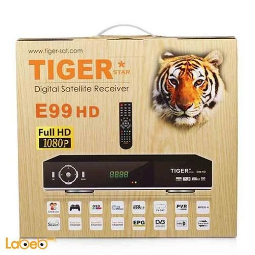 Tiger receiver E99 HD 1080P black