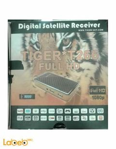 Tiger receiver T266 - 3G - 1080P - Full HD - black