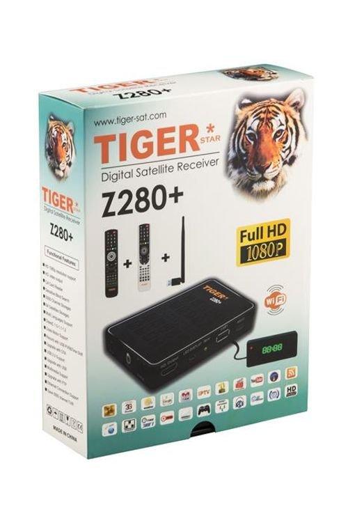 ريسيفر تايجر Z280 بلس 1080 بكسل منفذين USB