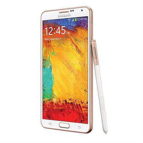 Samsung galaxy note 3 rose gold white 32GB pen