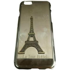 mobile back cover - suitable for iphone 6 - gold - eiffel picture