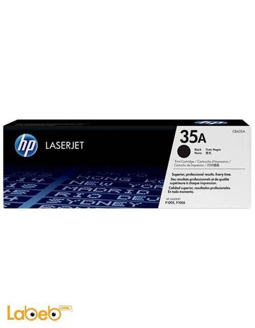 علبة حبر تونر ليزر طابعات HP قدرة 1500 صفحة CB435A