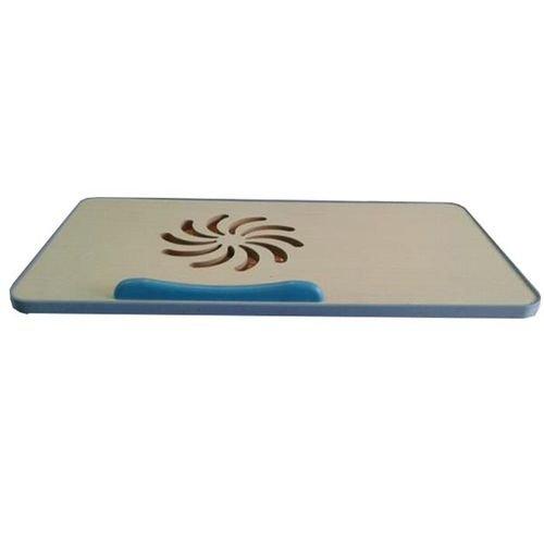 منصة تبريد لجهاز اللابتوب ازرق وابيض Fan 650RPM