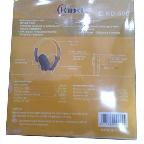Kiba headphones 3.5mm